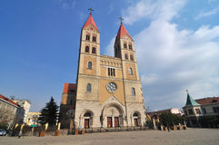 Qingdao Catholic Church Royalty Free Stock Image