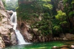 Qingdao chaoyin sault laoshan krajobraz w Chiny obrazy royalty free
