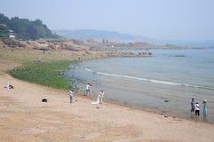 Qingdao China Beach Stock Photos