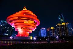 Qingdao, China, 22-09-2015 4 de mayo cuadrado ( Wu Si Guangchang) Imágenes de archivo libres de regalías