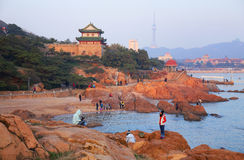 Qingdao city,China Royalty Free Stock Photos