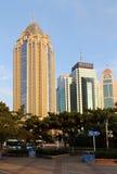 Qingdao cityï¼ Kina Royaltyfri Bild