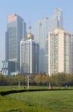 Qingdao cityï¼ Kina Arkivbilder