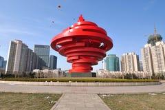 Qingdao city China stock photo