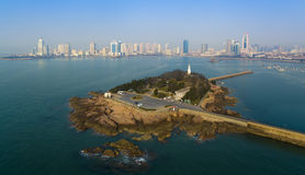 Qingdao coast landscape China Stock Photos