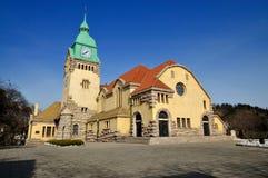 Qingdao kyrka Arkivbilder