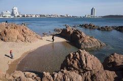 Qingdao-Landschaft Stockbild