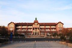 Qingdao nadmorski hotelowy miejsce fotografia royalty free