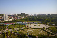 Qingdao Olympic park Stock Photo