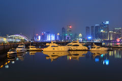 Qingdao Olympic Sailing Center Stock Image