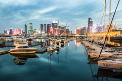 Qingdao olympisk segling Royaltyfria Foton