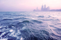 Qingdao sceneria, morze Zdjęcia Stock