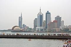 Qingdao skyline Royalty Free Stock Image
