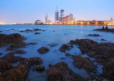 Qingdao stad fotografering för bildbyråer