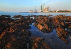 Qingdao-Stadt Lizenzfreies Stockbild