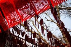 Qingdao tempel Fotografering för Bildbyråer