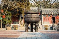 Qingdao tempel Arkivbild