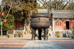 Qingdao Temple. Temple in Qingdao Shandong China Stock Photography