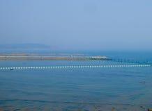 Qingdao trestle bridge Royalty Free Stock Photography