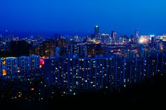 Qingdaolandschap Royalty-vrije Stock Foto