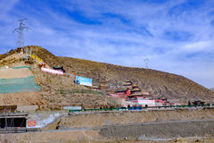 Qinghai die xining: grote kunlun berg de van negen dagen van heilige - van MaLong Phoenix Royalty-vrije Stock Foto
