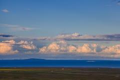 Qinghai Lake Arkivbild