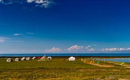 Qinghai lake Stock Photo