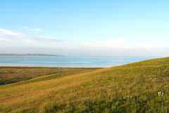 Qinghai Lake in Qinghai Province Stock Photo