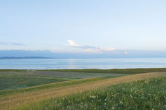Qinghai Lake in Qinghai Province Stock Photos