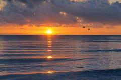 Qinghai Lake sunrise Royalty Free Stock Photography