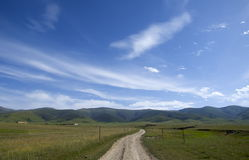 Qinghai Landscape Royalty Free Stock Photography