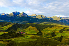 Qinghai landskap Royaltyfri Foto
