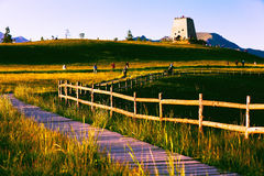 Qinghai Qilian Mountains Beacon Thatcher Stock Photography