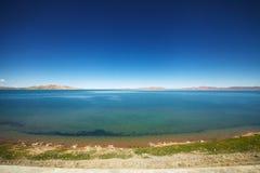 Qinghai sjö Arkivbild