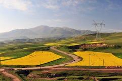 Qinghai-Tibet Highway Stock Images