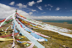 Qinghai - Tibet Plateau. Qinghai Tibet Plateau nature with many lakes Stock Image