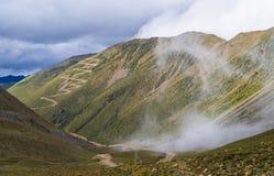 Qinghai Tibet Plateau. The autumn scenery of the Qinghai Tibet Plateau Stock Image