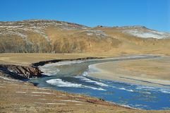 Qinghai-Tibet Plateau rivers Stock Photography