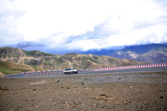 Qinghai-Tibet Plateau Road Royalty Free Stock Images