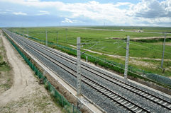 Qinghai-Tibet Railway Royalty Free Stock Photography