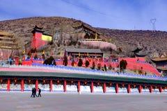 Qinghai xining: grande kunlun Saint de nove dias - montanha de MaLong phoenix Fotos de Stock Royalty Free