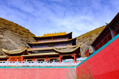Qinghai Xining: san di nove giorni del grande kunlun - montagna di MaLong Phoenix Immagini Stock Libere da Diritti
