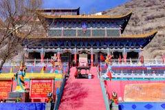 Qinghai Xining: wielki kunlun dziewięć dni święty - MaLong feniksa góra fotografia royalty free