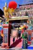Qinghai Xining: wielki kunlun dziewięć dni święty - MaLong feniksa góra Zdjęcia Stock