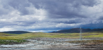 The Qinghai - Xizang Plateau Royalty Free Stock Photos