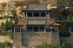 Qingliangshan in yanan Stock Photos