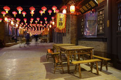 Qinglong Ancient Town Royalty Free Stock Photography