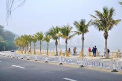 Qinglu Zhonglu scenery Stock Images