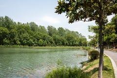 Qinglv lake Royalty Free Stock Images
