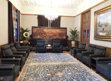 Qingwangfu kulturalny hotelowy teren komponuje Qingwangfu książe Qing's dwór obrazy stock